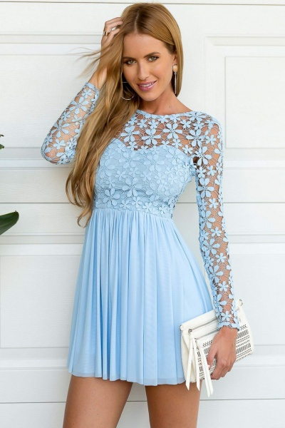 Light Blue Dress Stacees Dresses and Fashion Accessories 7d4251e97